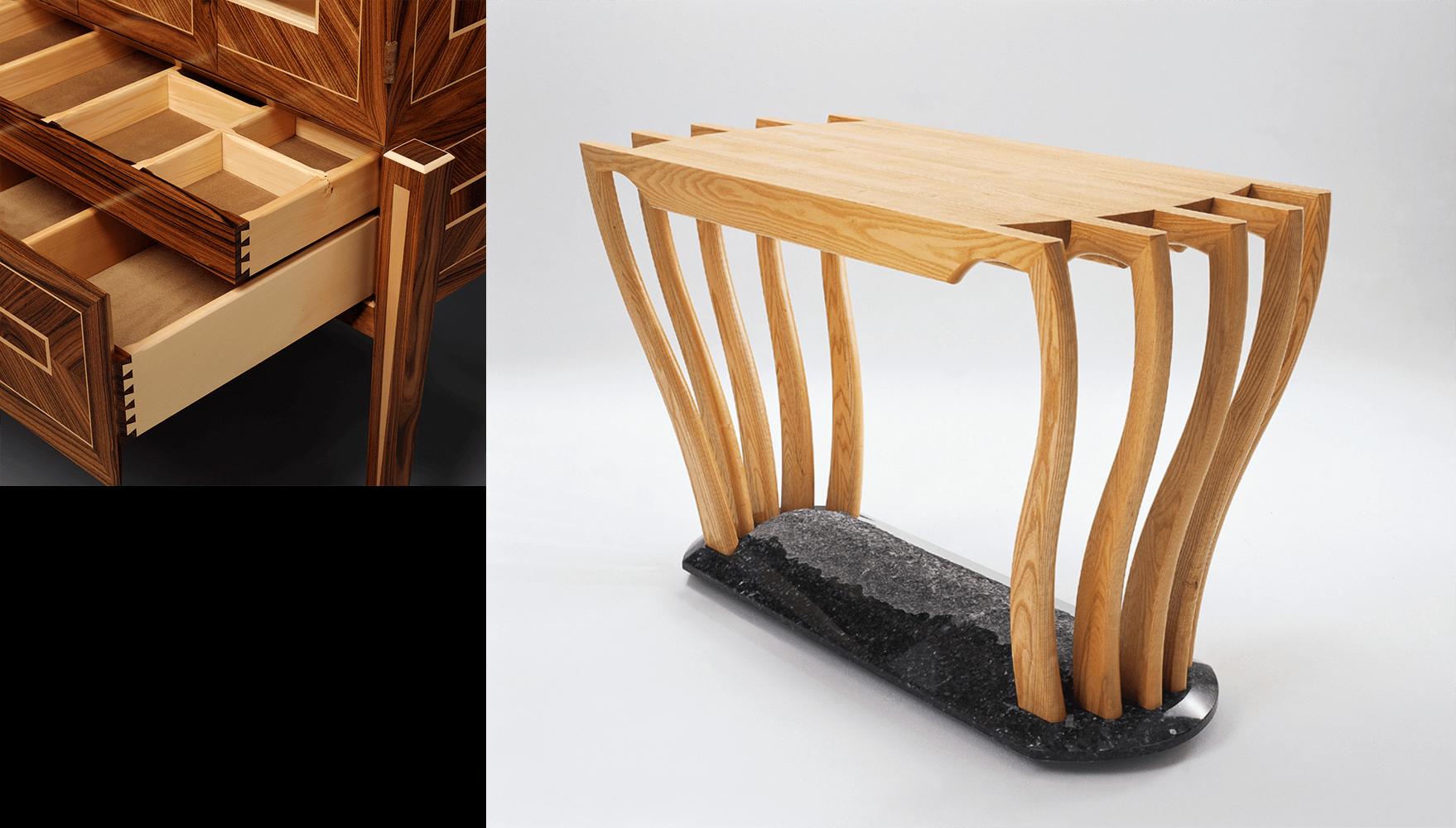 Liturgical Furniture piece by custom designer-maker Gray Hawk