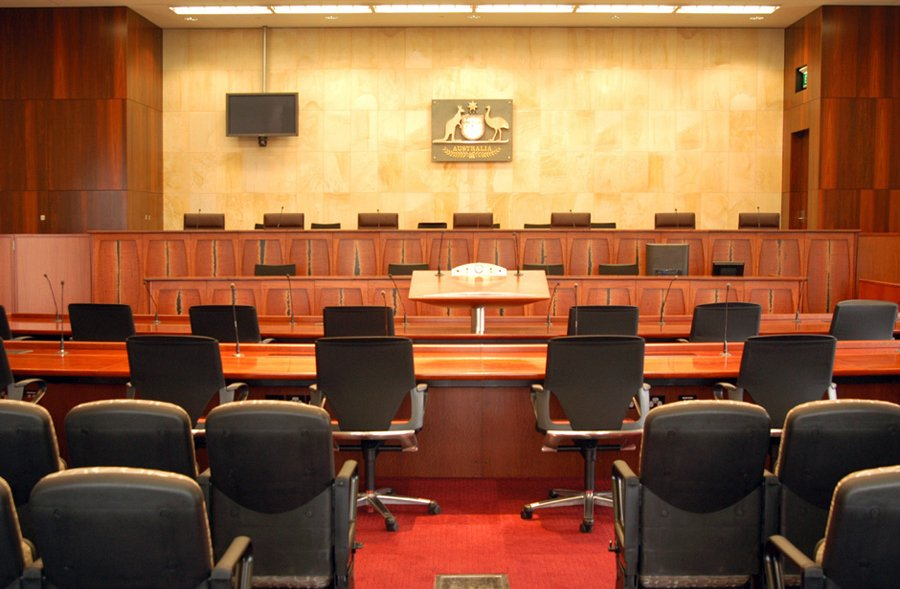 Photo of federal courts furniture design wide