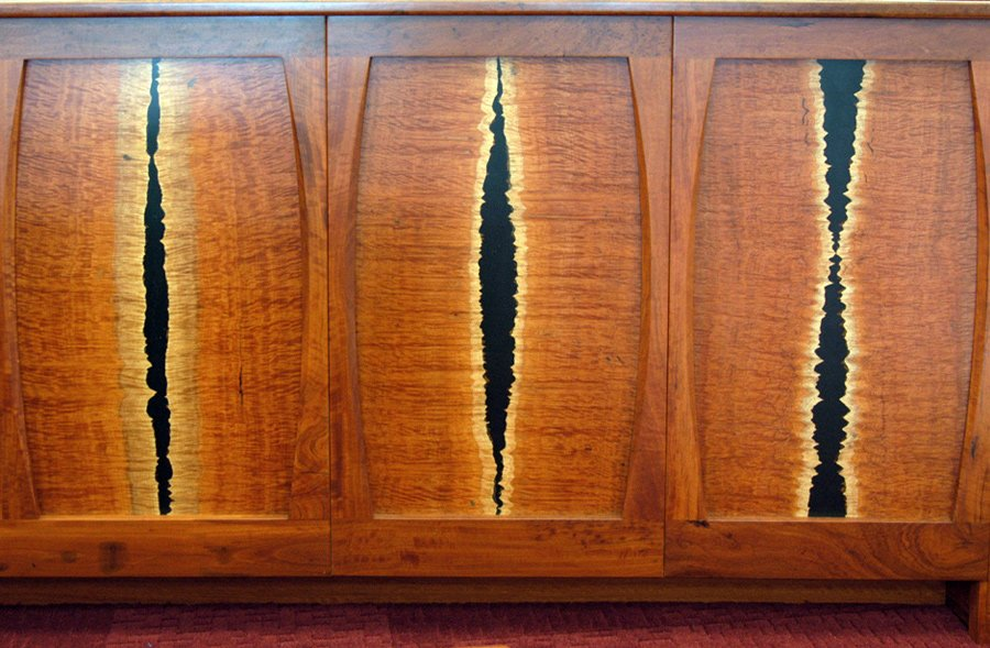 Photo of federal courts furniture timber detail
